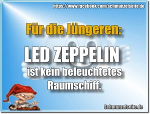 LED ZEPPELIN Raumschiff