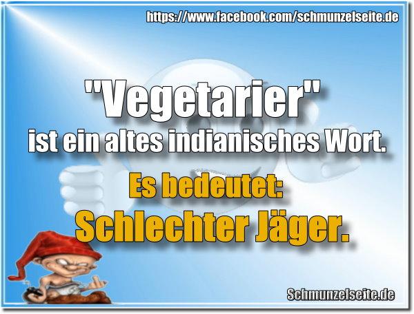 Vegetarier sind