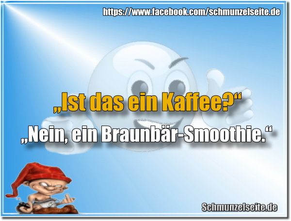 Braunbär-Smoothie