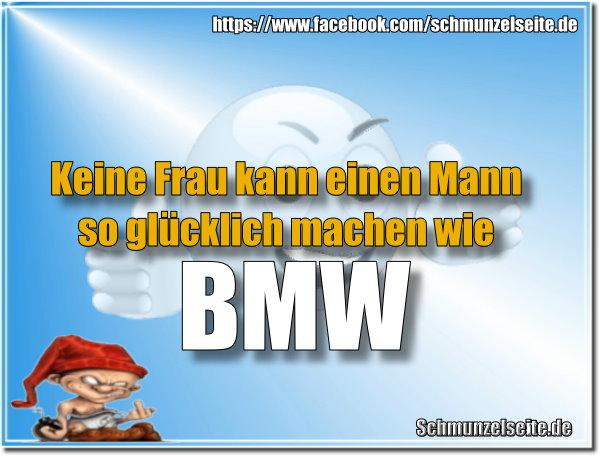 Glücklicher BMW