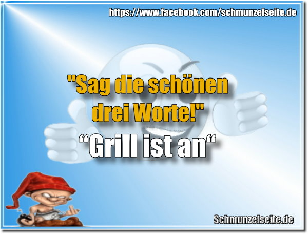 Grill ist an