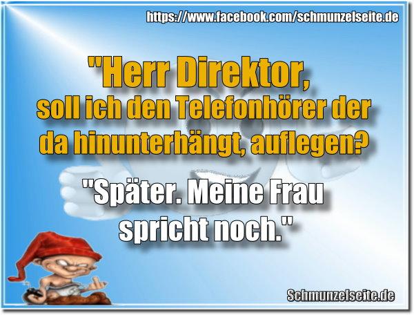 Herr Direktor