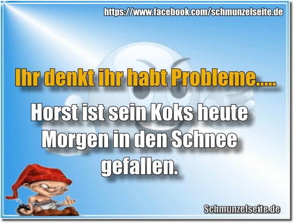 Horst hat Probleme