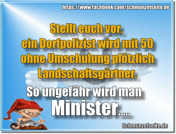 Minister werden
