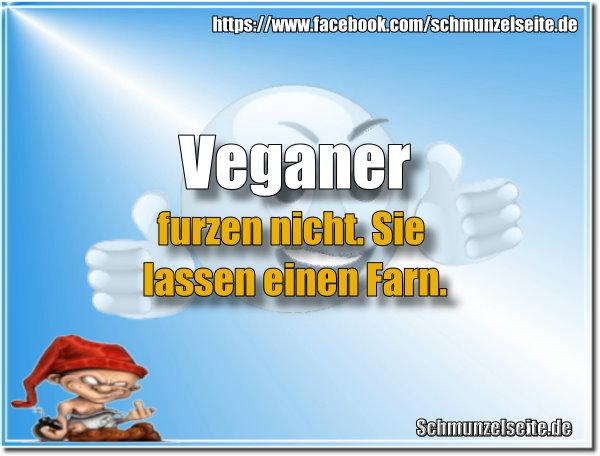 Veganer furzen nicht