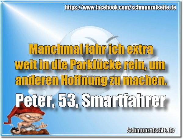 Peter der Smartfahrer