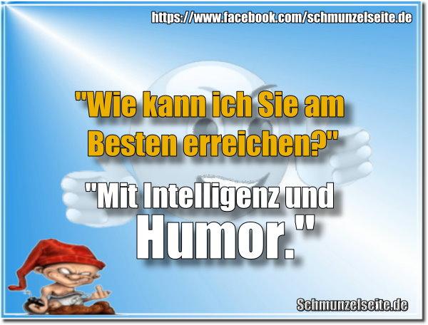 Intelligenz und Humor
