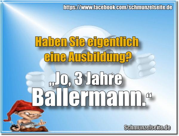 Ausbildung am Ballermann.