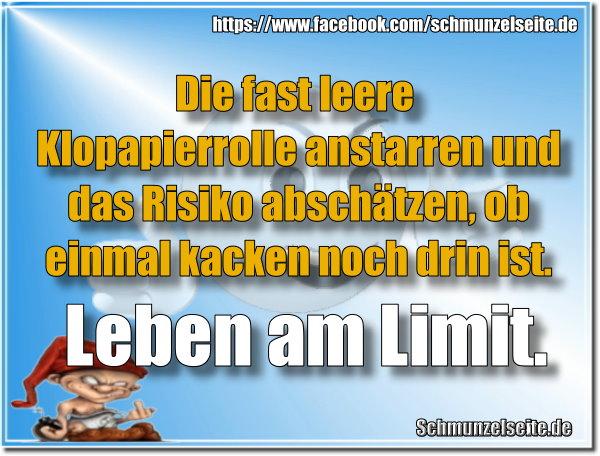 Leben am Limit.