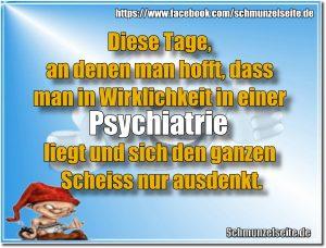 In der Psychiatrie