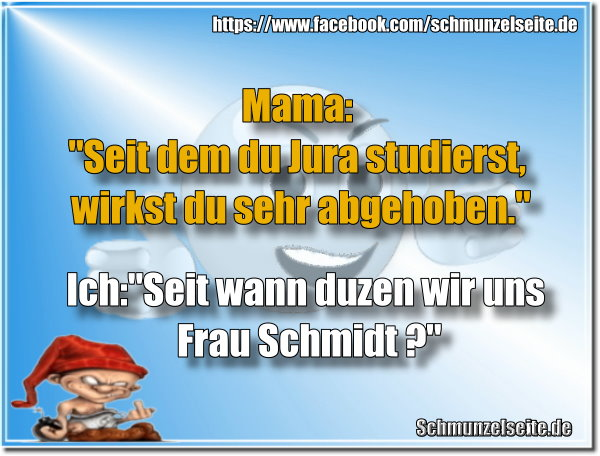 Mama studiert Jura