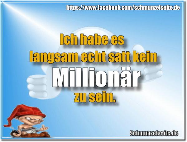 Millionär sein
