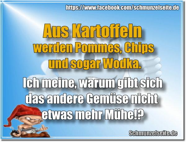 Pommes, Chips und Wodka
