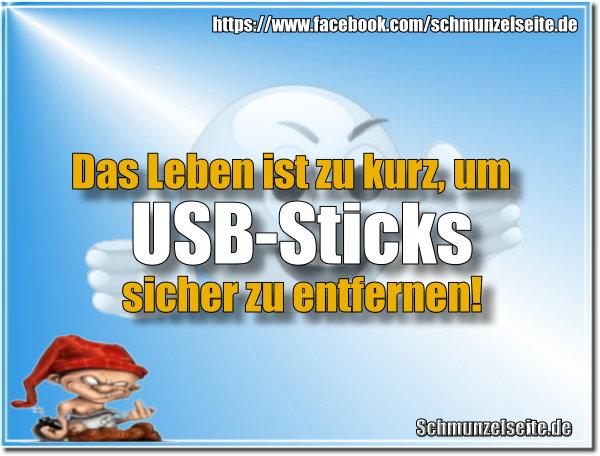 USB-Sticks entfernen