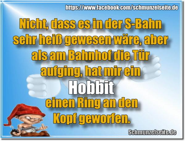 Hobbit in der S-Bahn