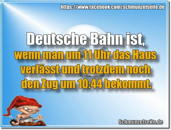 Pünktliche Deutsche Bahn