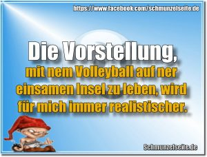 Insel Volleyball
