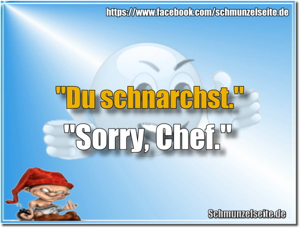 Sorry Chef