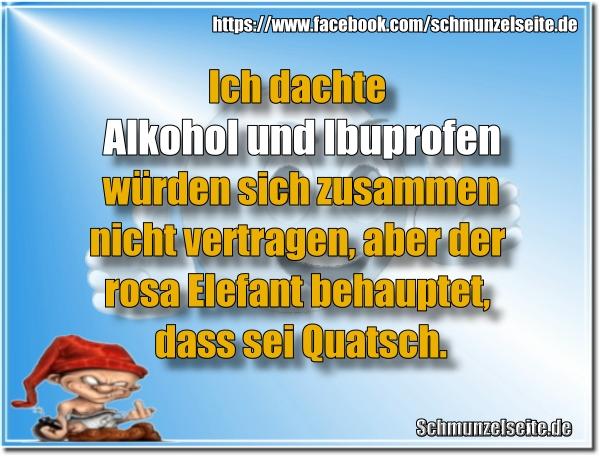 Alkohol und Ibuprofen