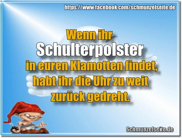 Schulterpolster