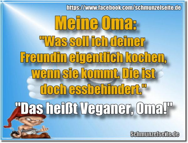 Veganer und Oma