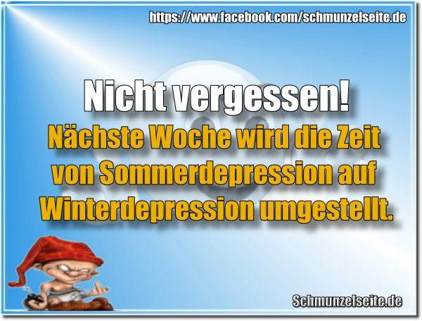 Zeit für Winterdepression