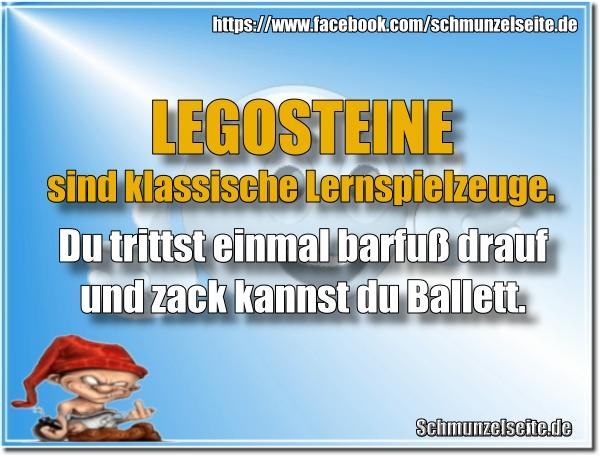 Legosteine Ballett