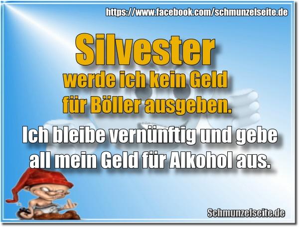 Silvester und Alkohol