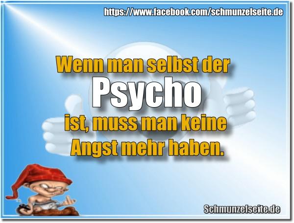 Psycho und Angst