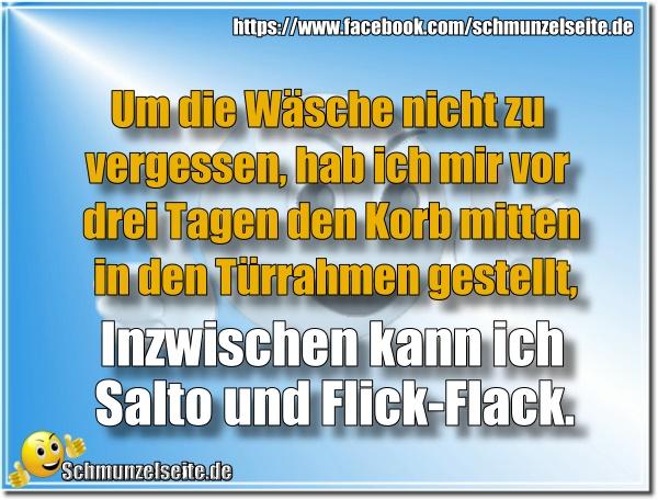 Salto und Flick-Flack