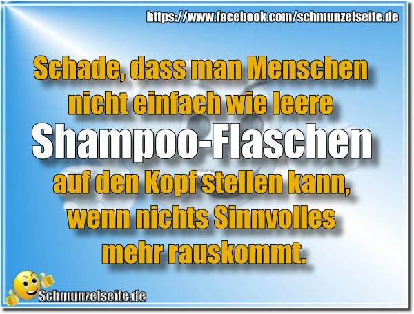 Shampoo-Flaschen