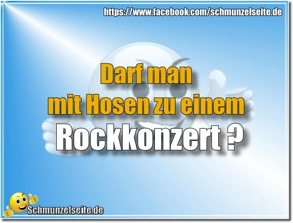 Zum Rockkonzert