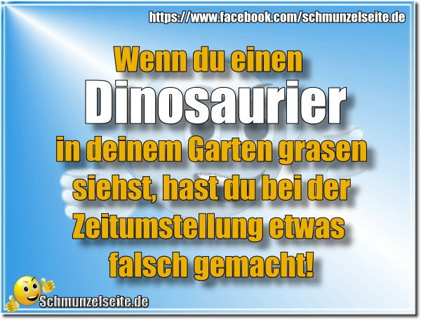 Dinosaurier im Garten