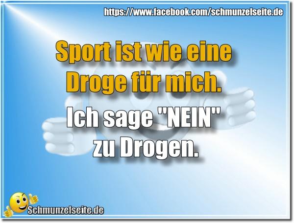 Sport ist wie eine Droge
