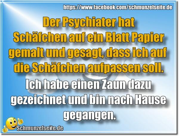 Psychiater und Schäfchen