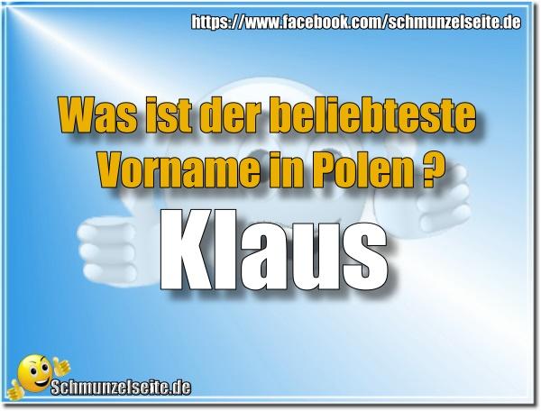 Klaus in Polen