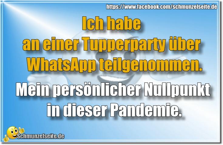 Tupperparty über WhatsApp
